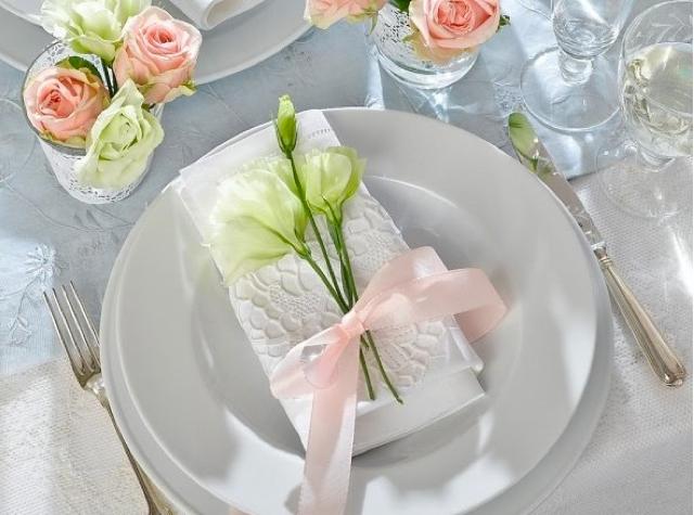 Салфетки декора стола