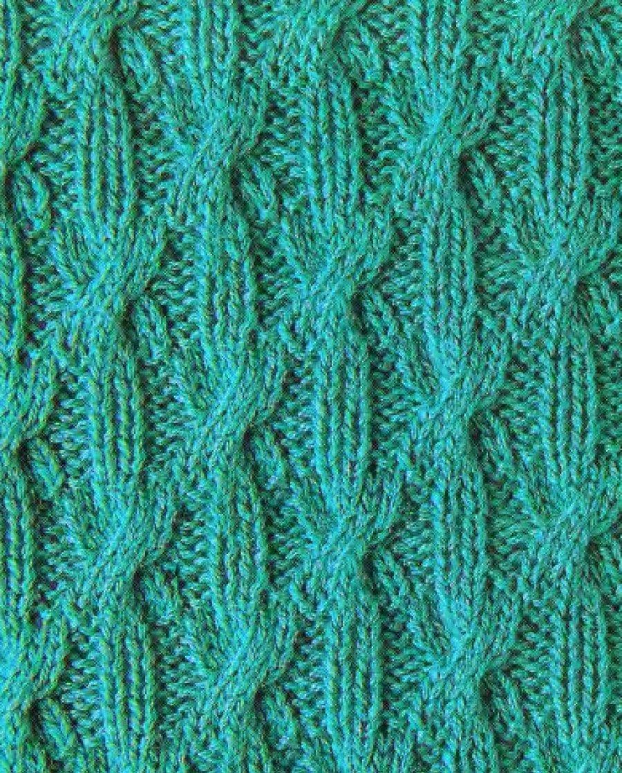 Фото узоров с косами для вязания на спицах