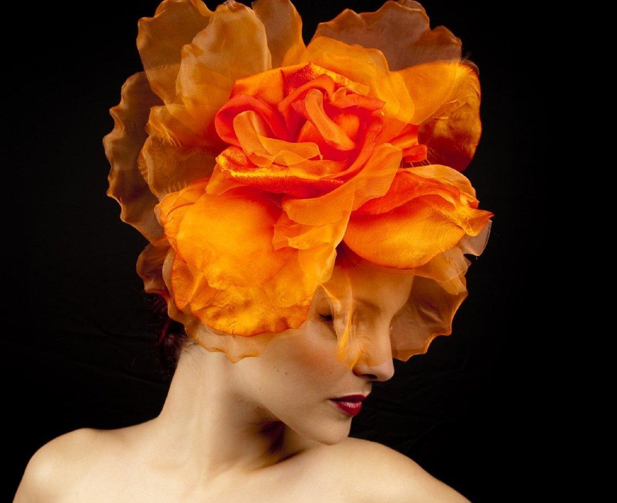 Шляпки цветы из бумаги своими руками