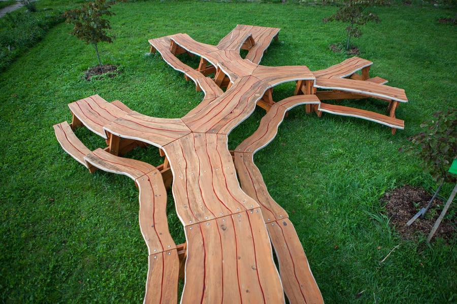 Оригинальная мебель из дерева своими руками фото 80