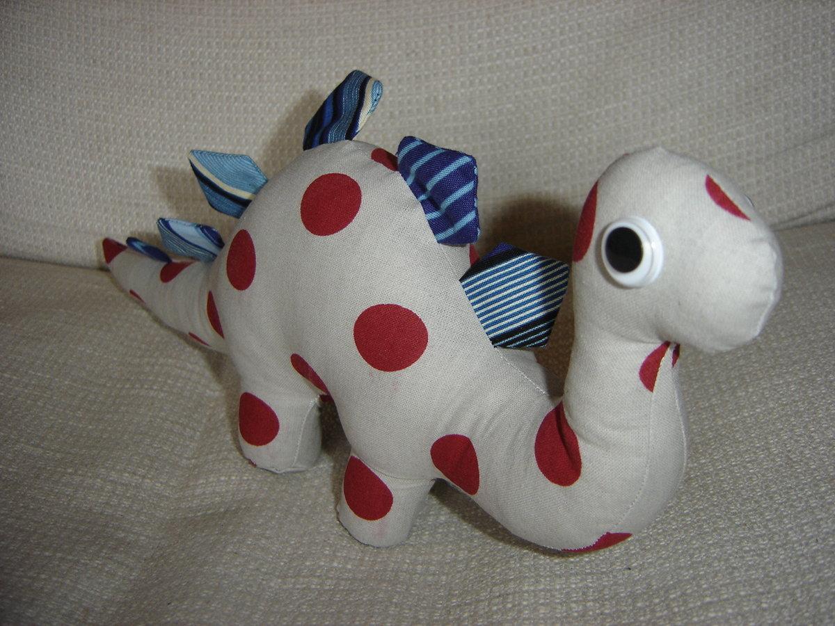 Динозавры мягкие игрушки своими руками