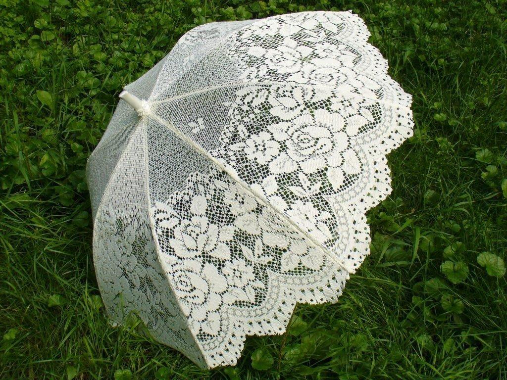 Свадебный зонт своими руками мастер класс 80
