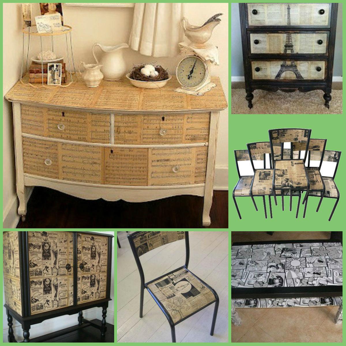 Как сделать мебель из старых дсп