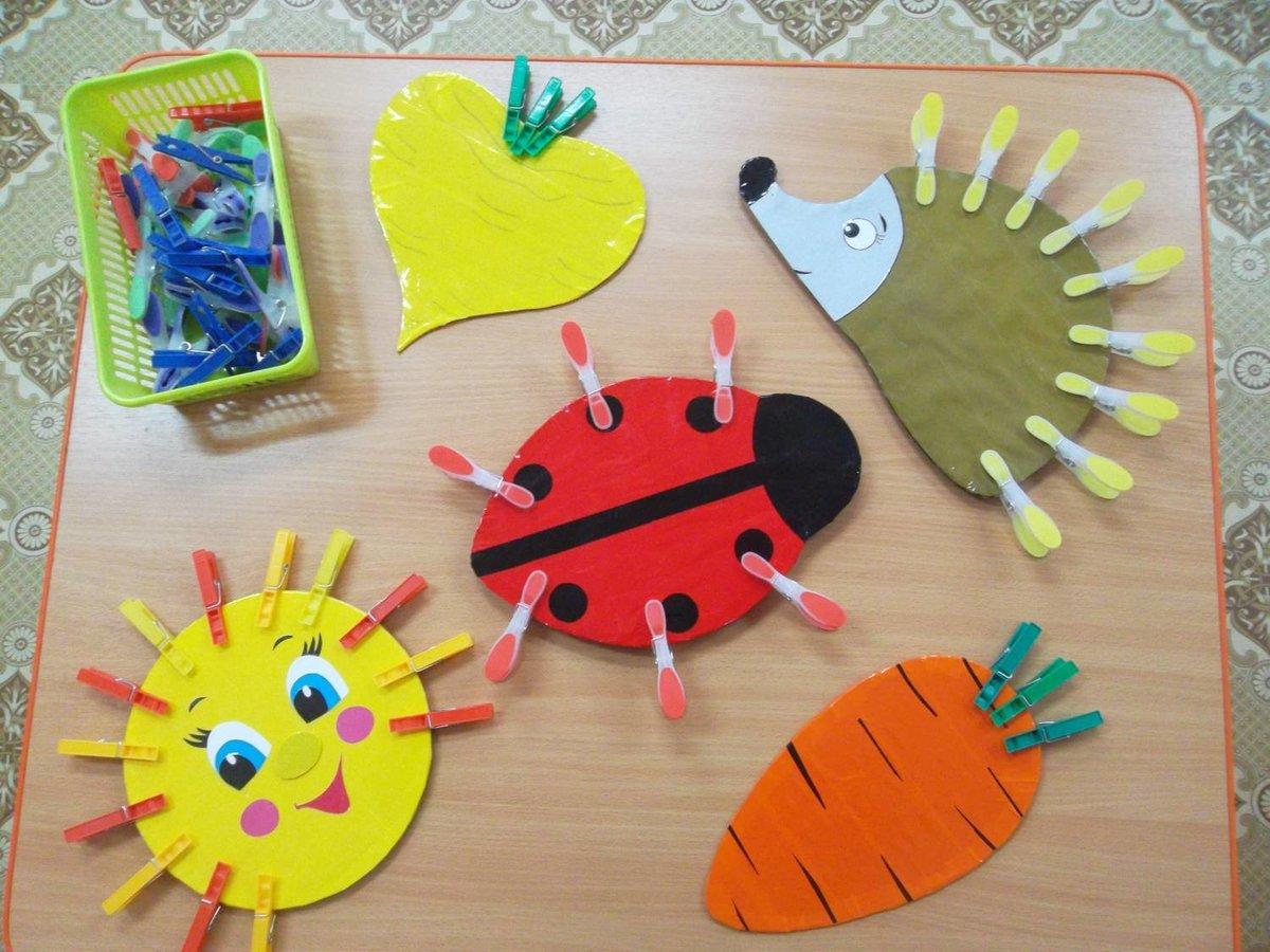 Развивающие материалы для детей 2-3 лет своими руками