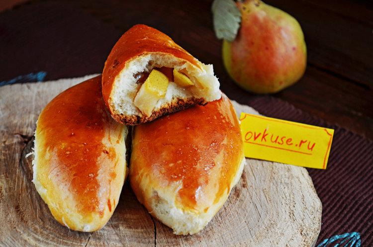 Духовые пирожки с фруктами рецепт190