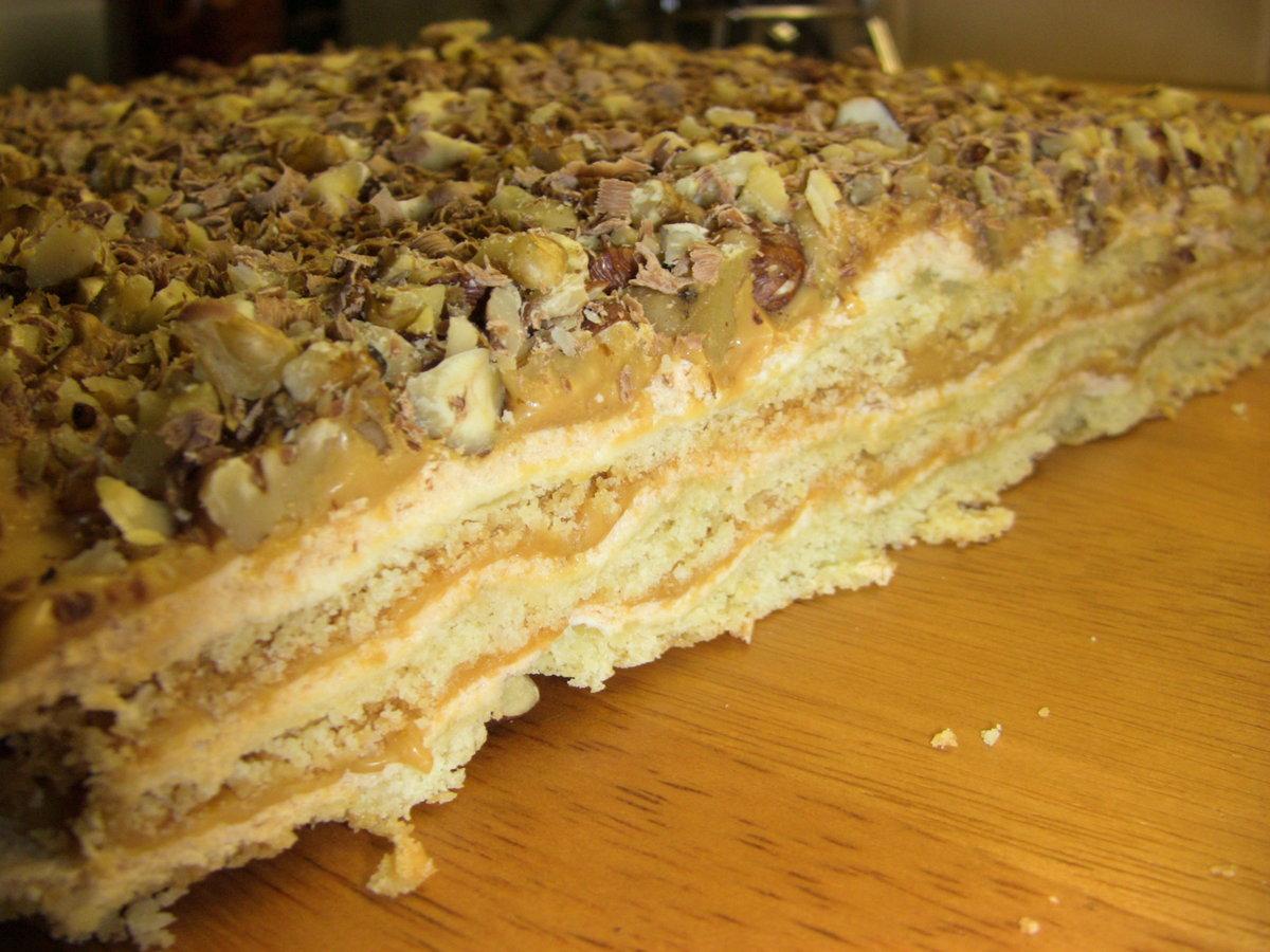 Торт с безе домашний рецепт пошагово
