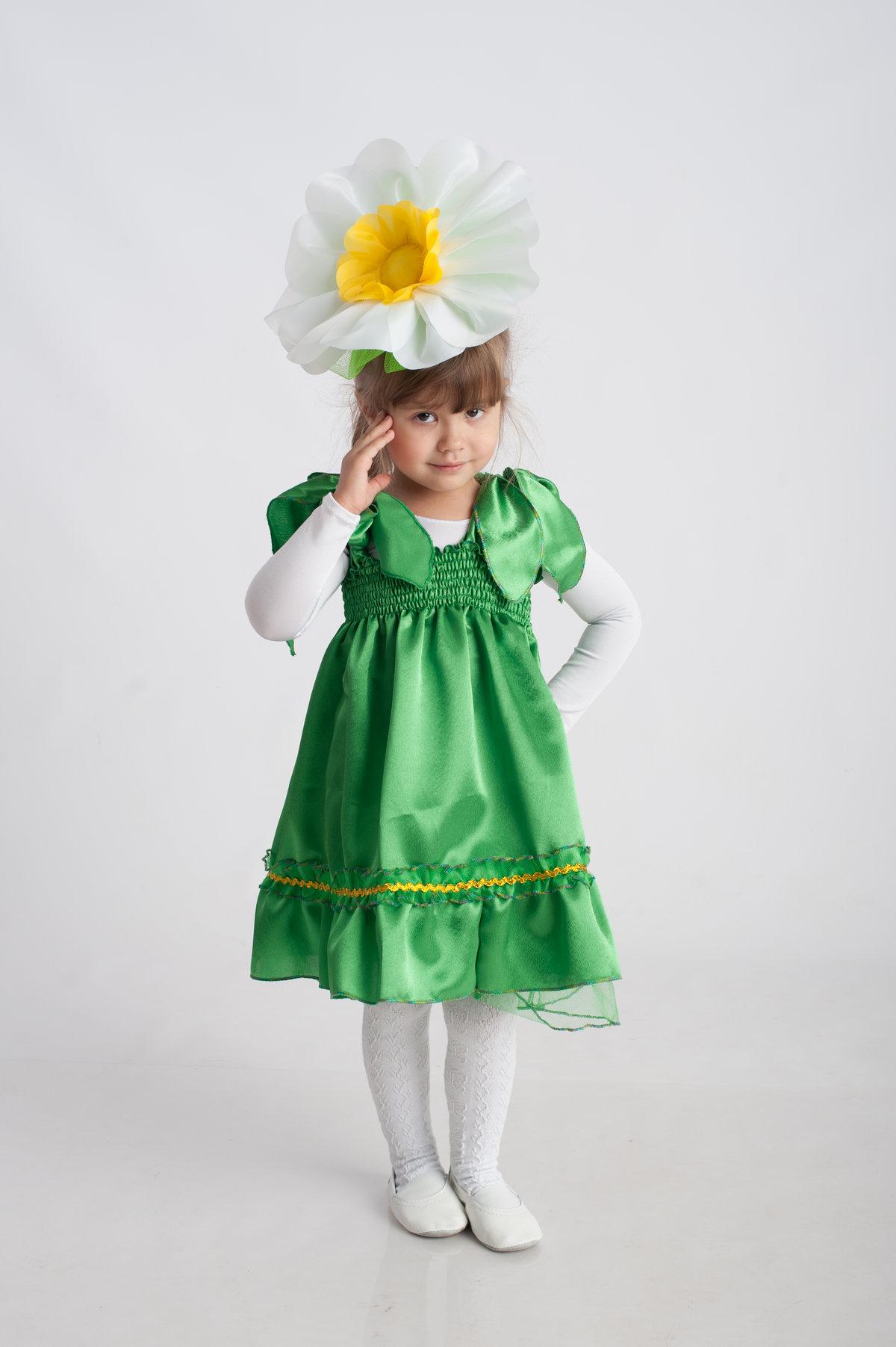 Василёк костюм для девочки своими руками