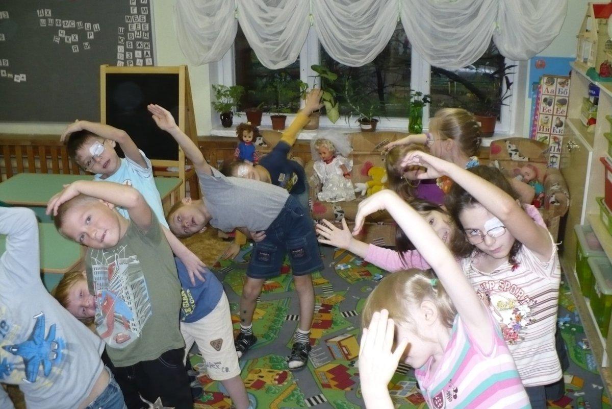 Фото детей на релаксацию