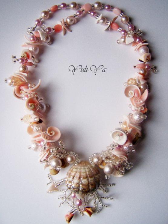 Ожерелье своими руками из ракушек 524