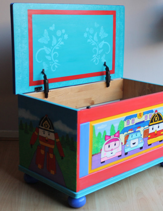Как из коробок сделать ящик для игрушек своими руками 191
