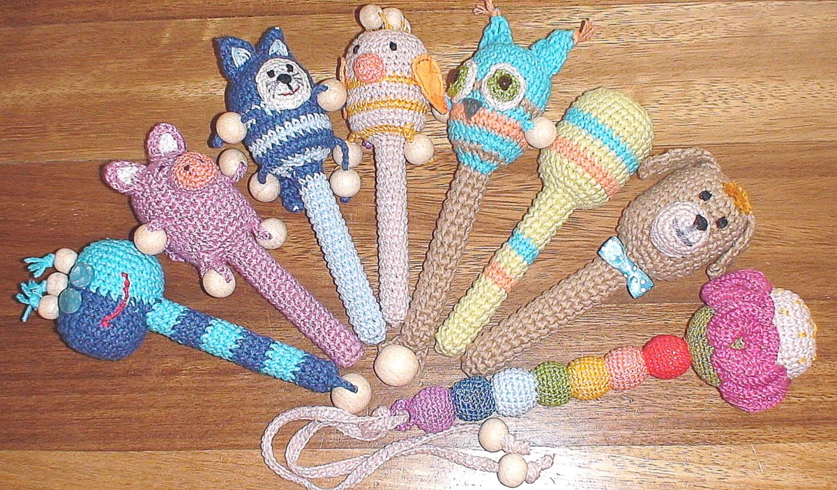 Игрушки вязаные своими руками крючком
