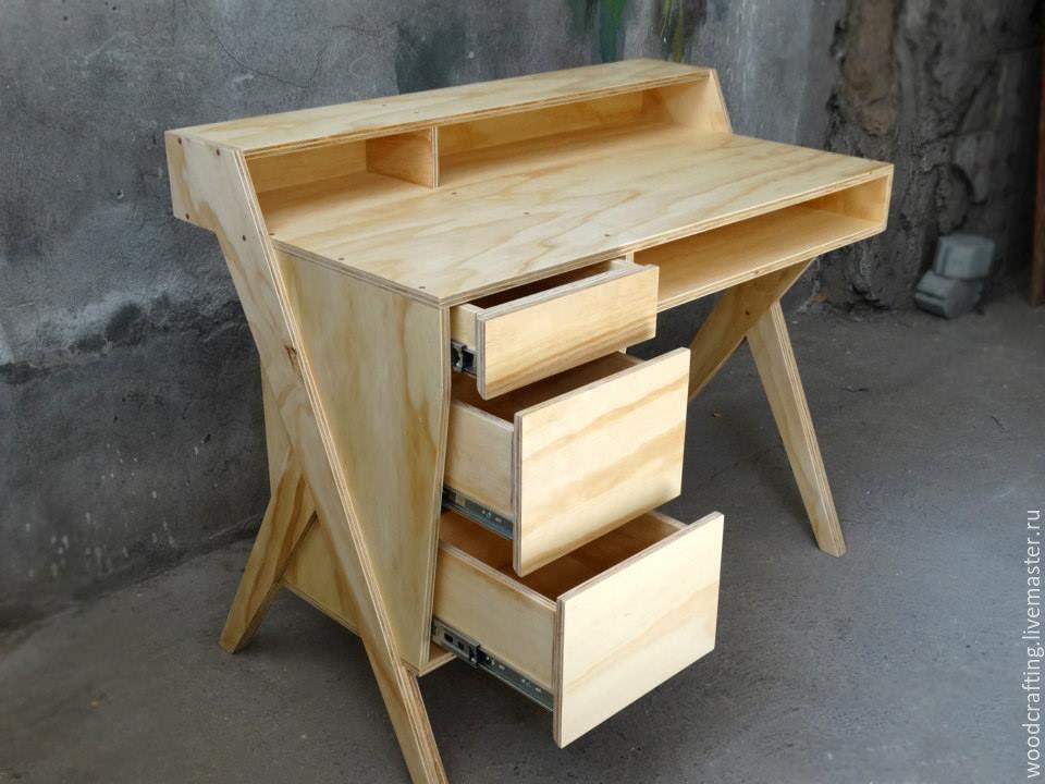 Делаем мебель из фанеры своими руками 37