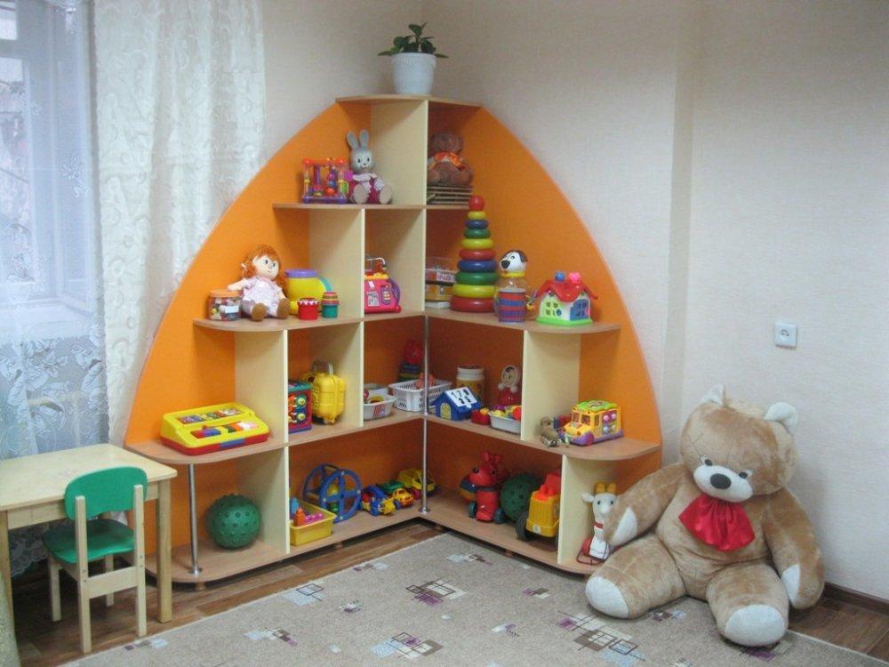 Стеллаж для хранения игрушек своими руками 5945