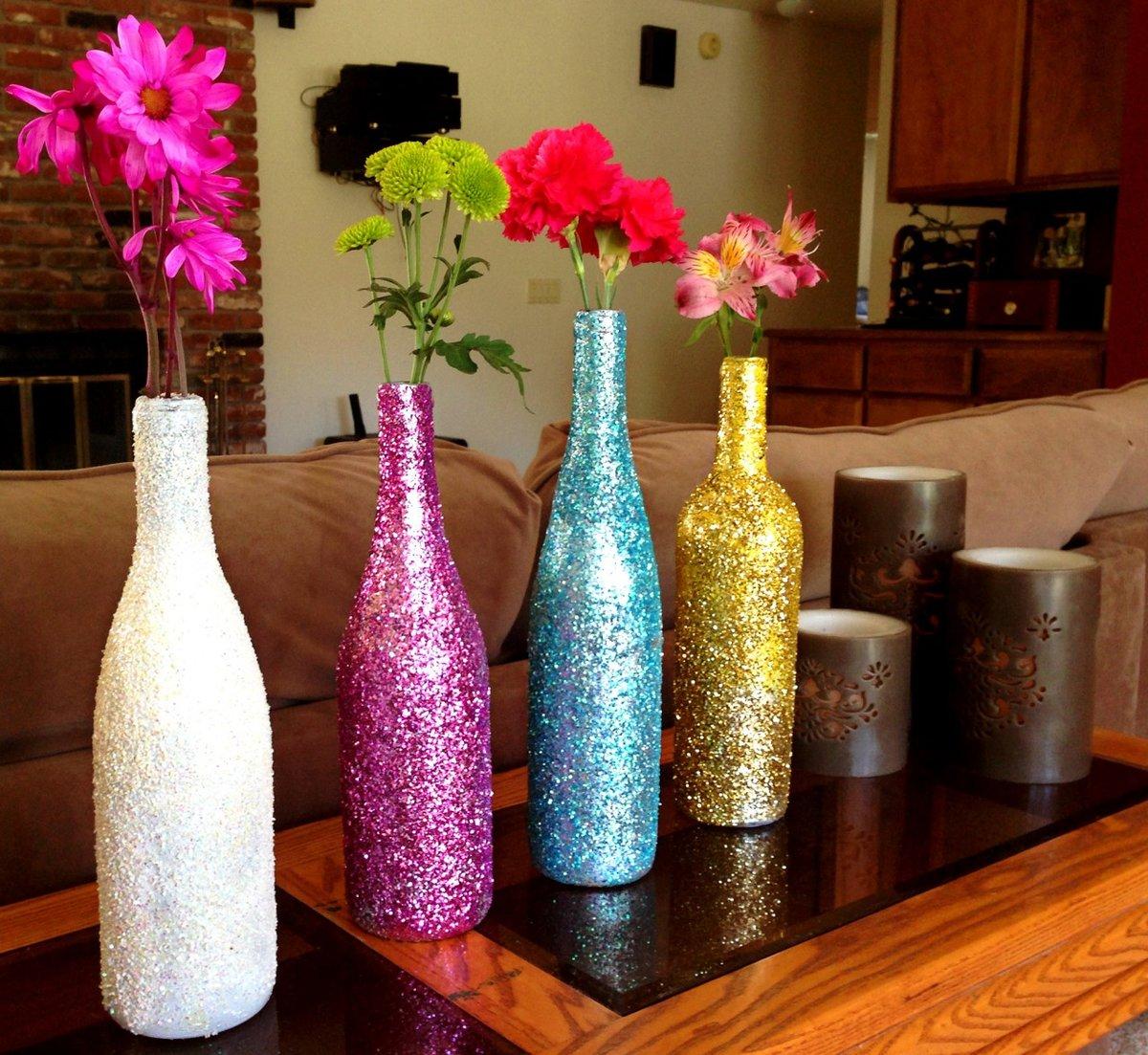 Декор бутылок своими руками в домашних условиях