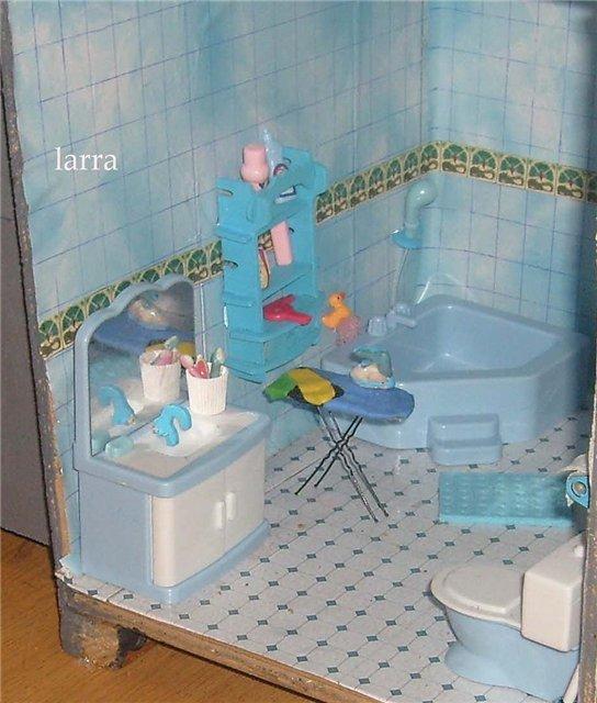 Как сделать ванную комнату для кукол своими руками