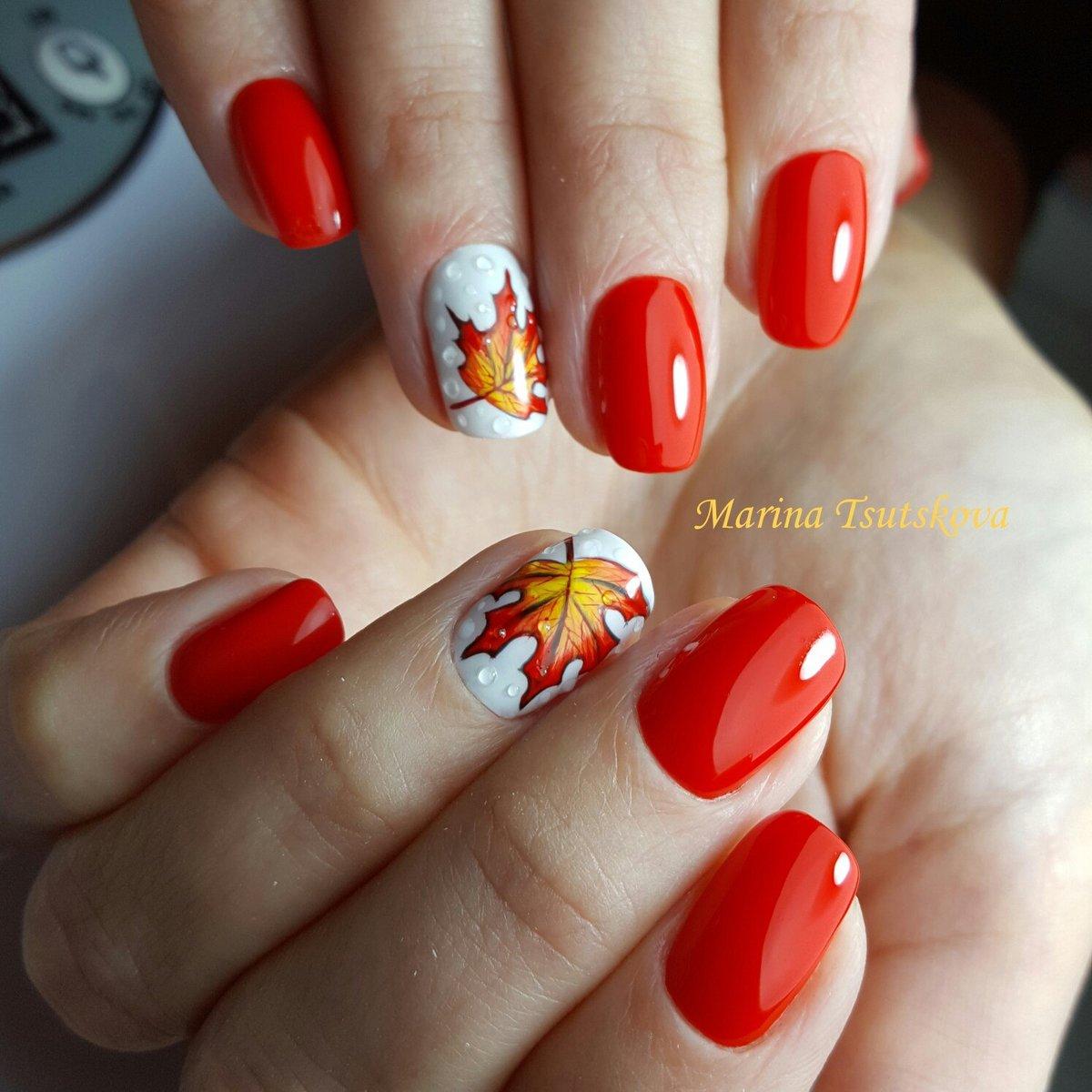 Дизайн ногтей гель-лаком 39