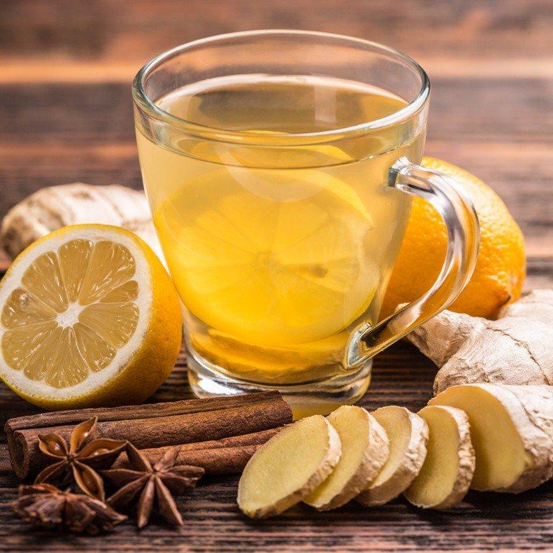 Как сделать напиток с имбирем и лимоном  83