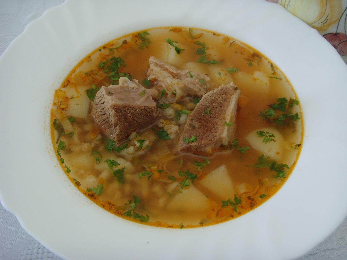 Суп из ребер говядины рецепт