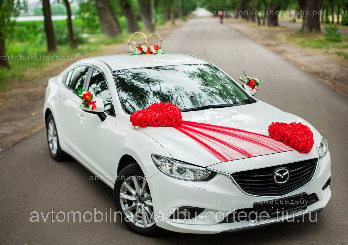 Украшения свадьба на машину