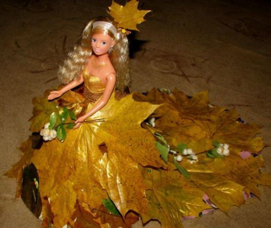 Поделки на тему золотая осень из природного материала
