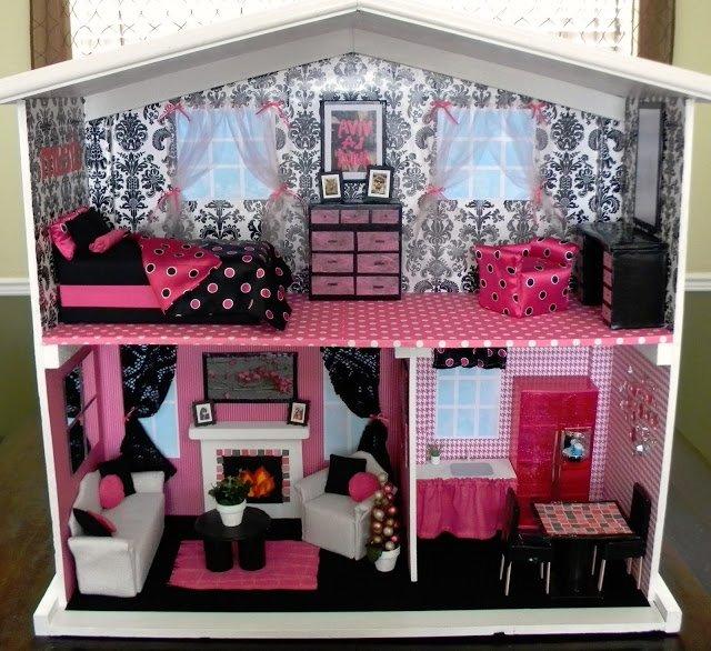 Мебель своими рука для кукол барби