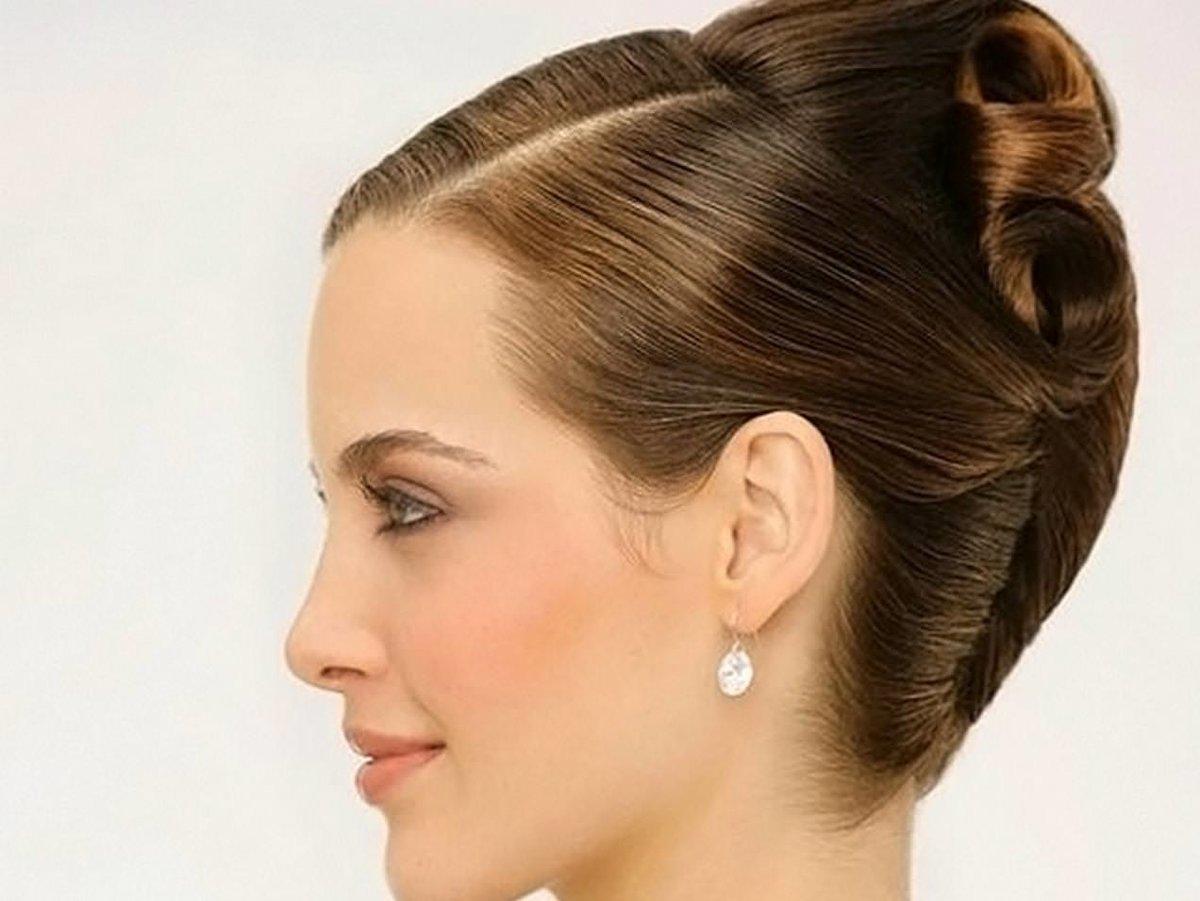 Как сделать красивую ракушку на волосах