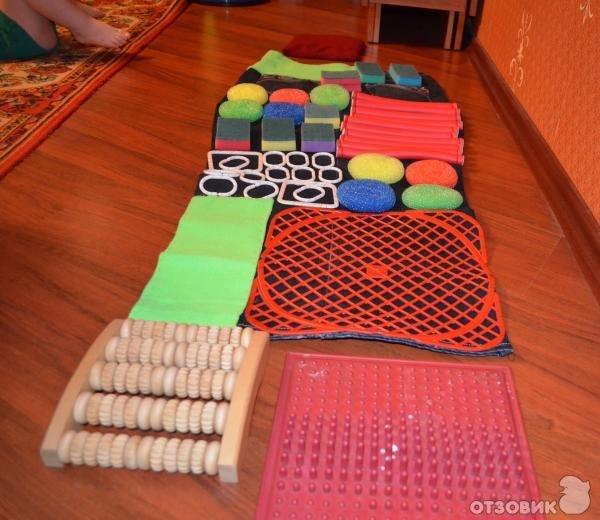 Детский массажный коврик для стоп своими руками 91
