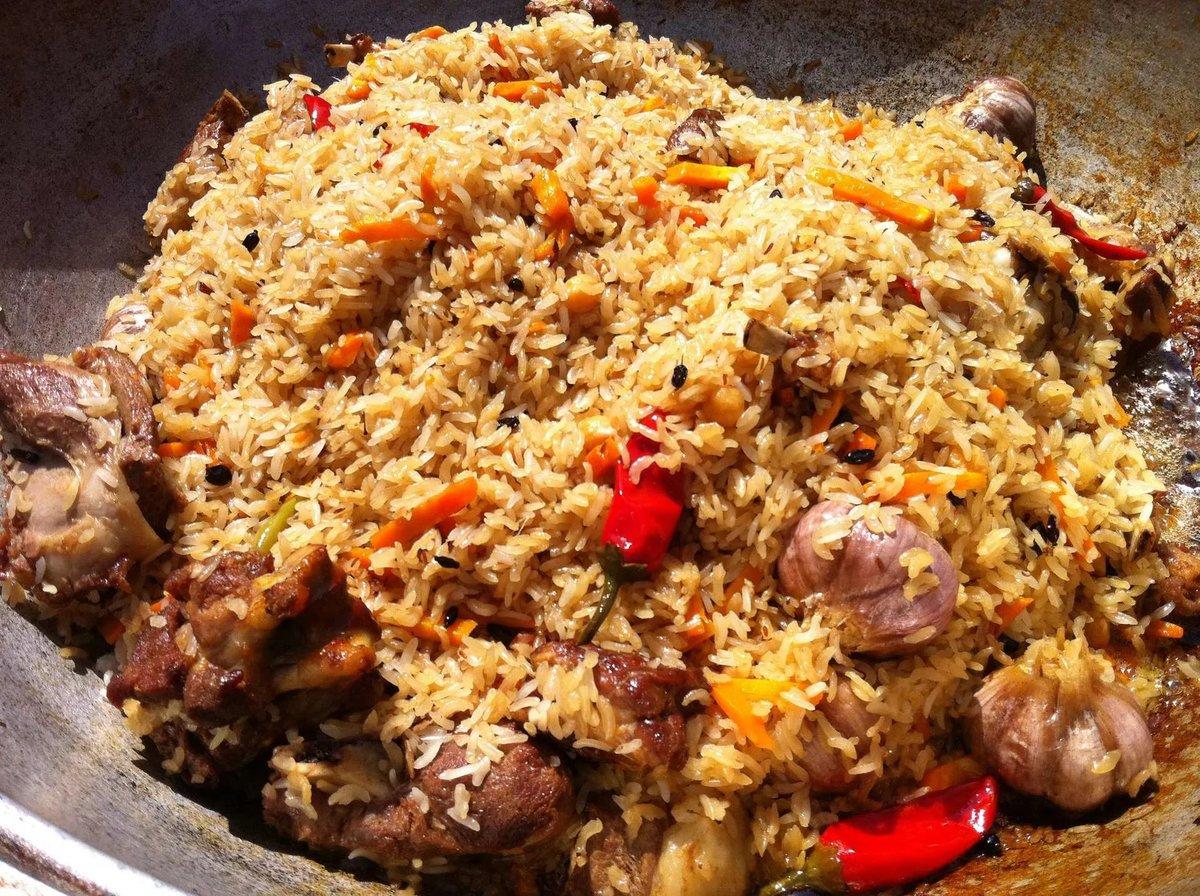 Рецепт плова по-узбекски с говядиной пошагово