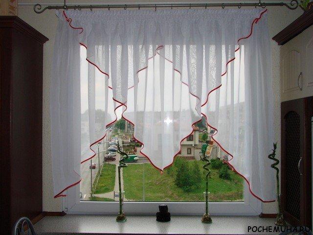 Пошить шторы на кухню своими руками фото 42