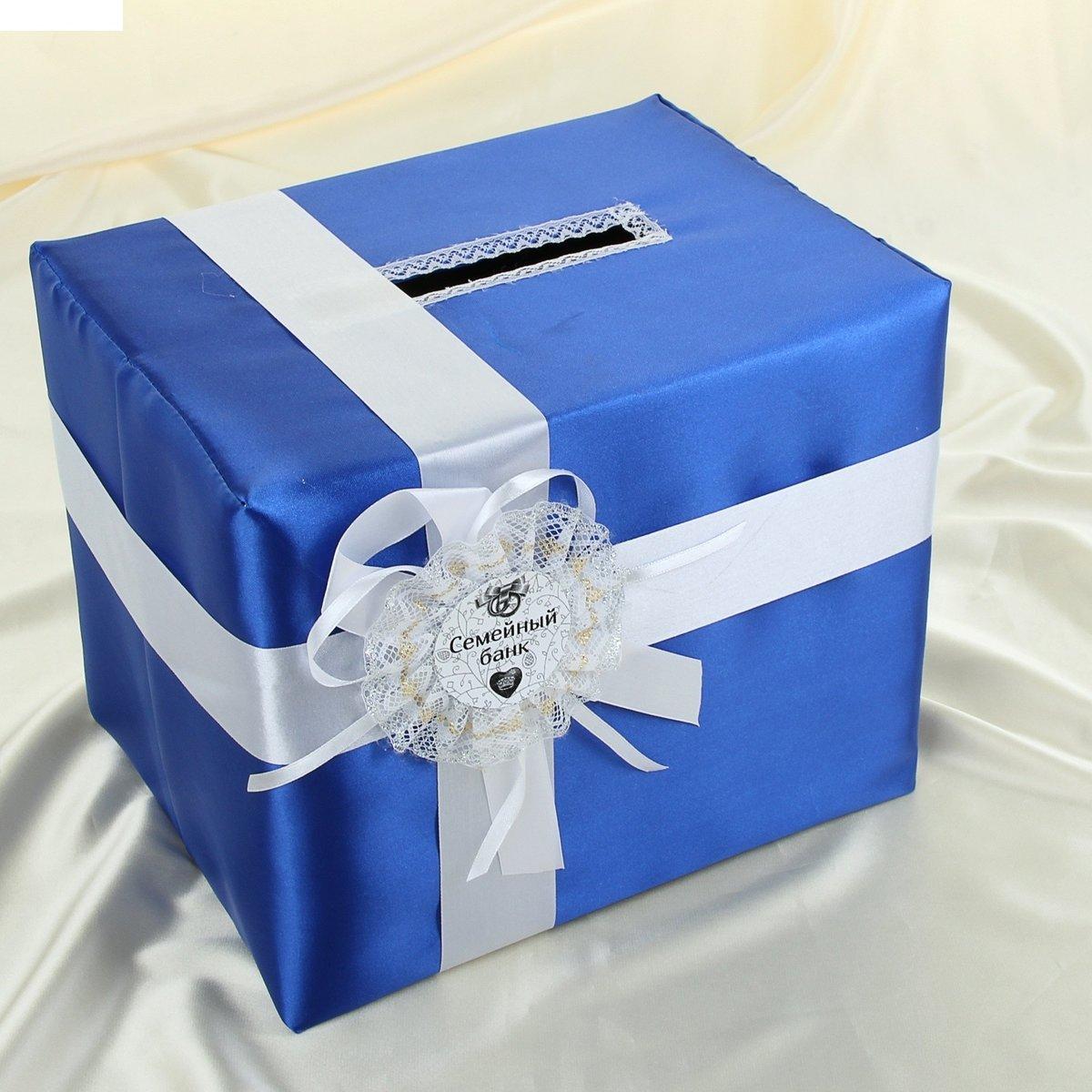 Банк для свадьбы из коробки 4