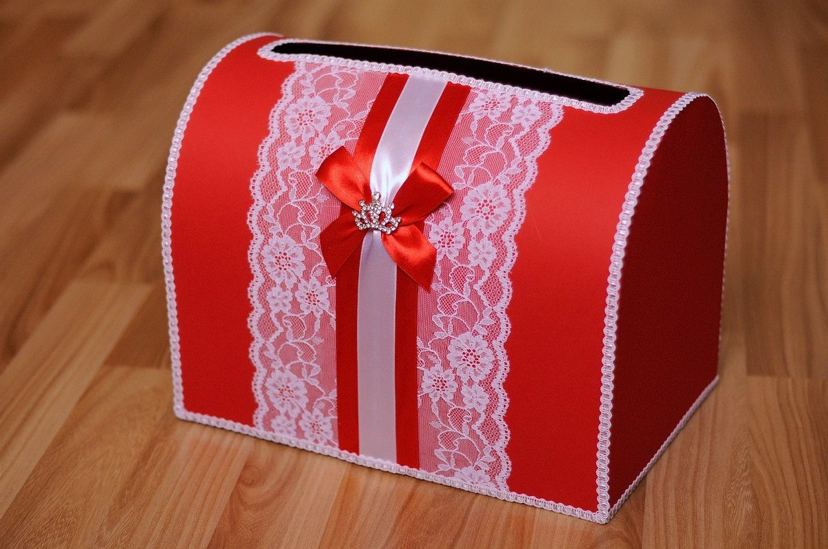 Свадебная коробки для денег своими руками