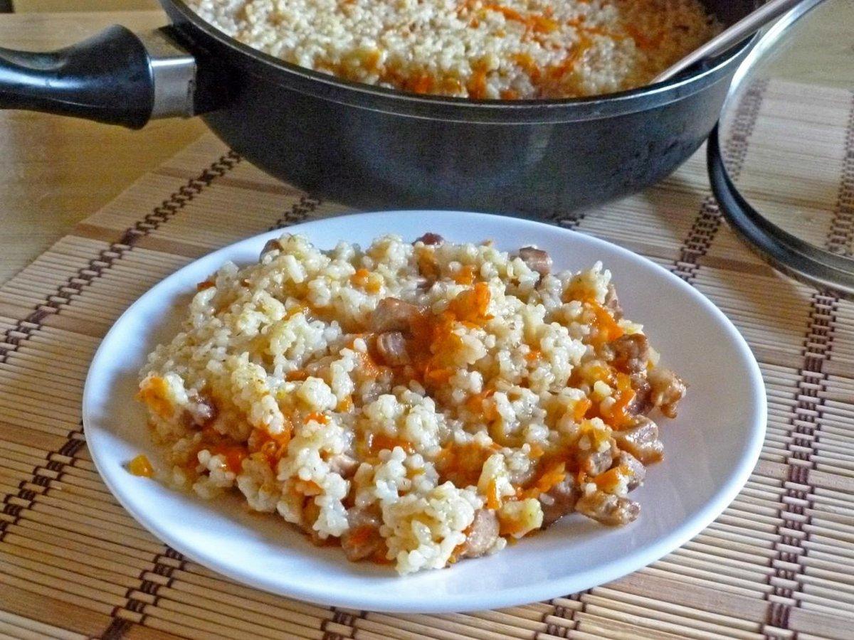 Плов рассыпчатый рецепт пошагово в сковороде