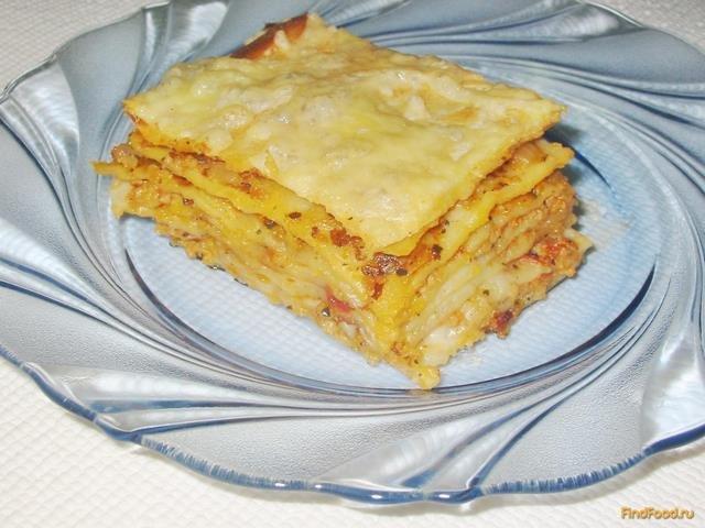 Лазанья классический рецепт с фото пошагово