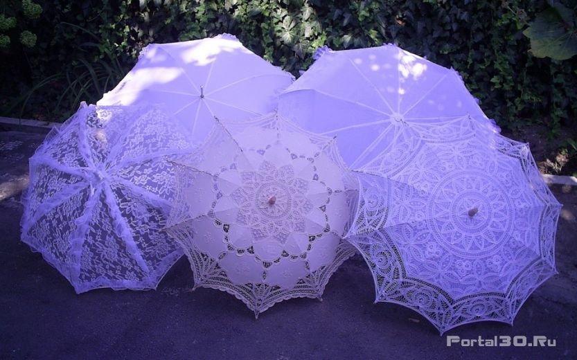 Свадебный зонт своими руками мастер класс 1106