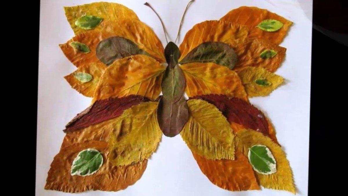 Простые поделки из природного материала на тему осень своими руками 12