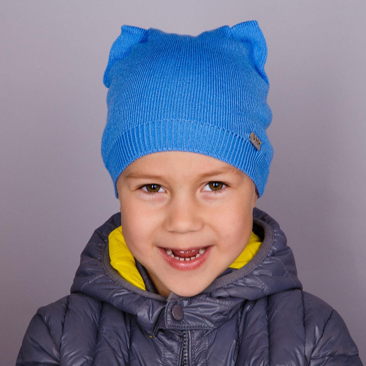 Детские шапочки, шарфики и береты спицами или крючком с 48