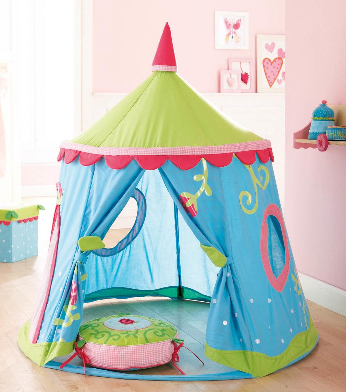 Палатка для ребенка своими руками из ткани 15
