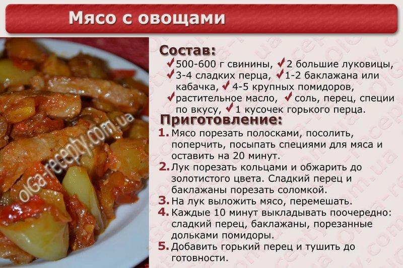 Быстрый рецепт вкусного блюда