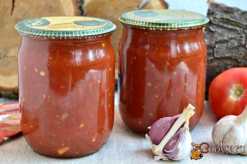 Соусы из помидор на зиму в домашних условиях