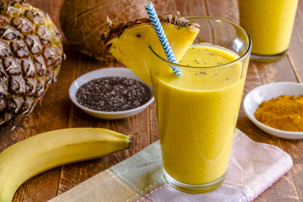 Как сделать напиток с бананом 913