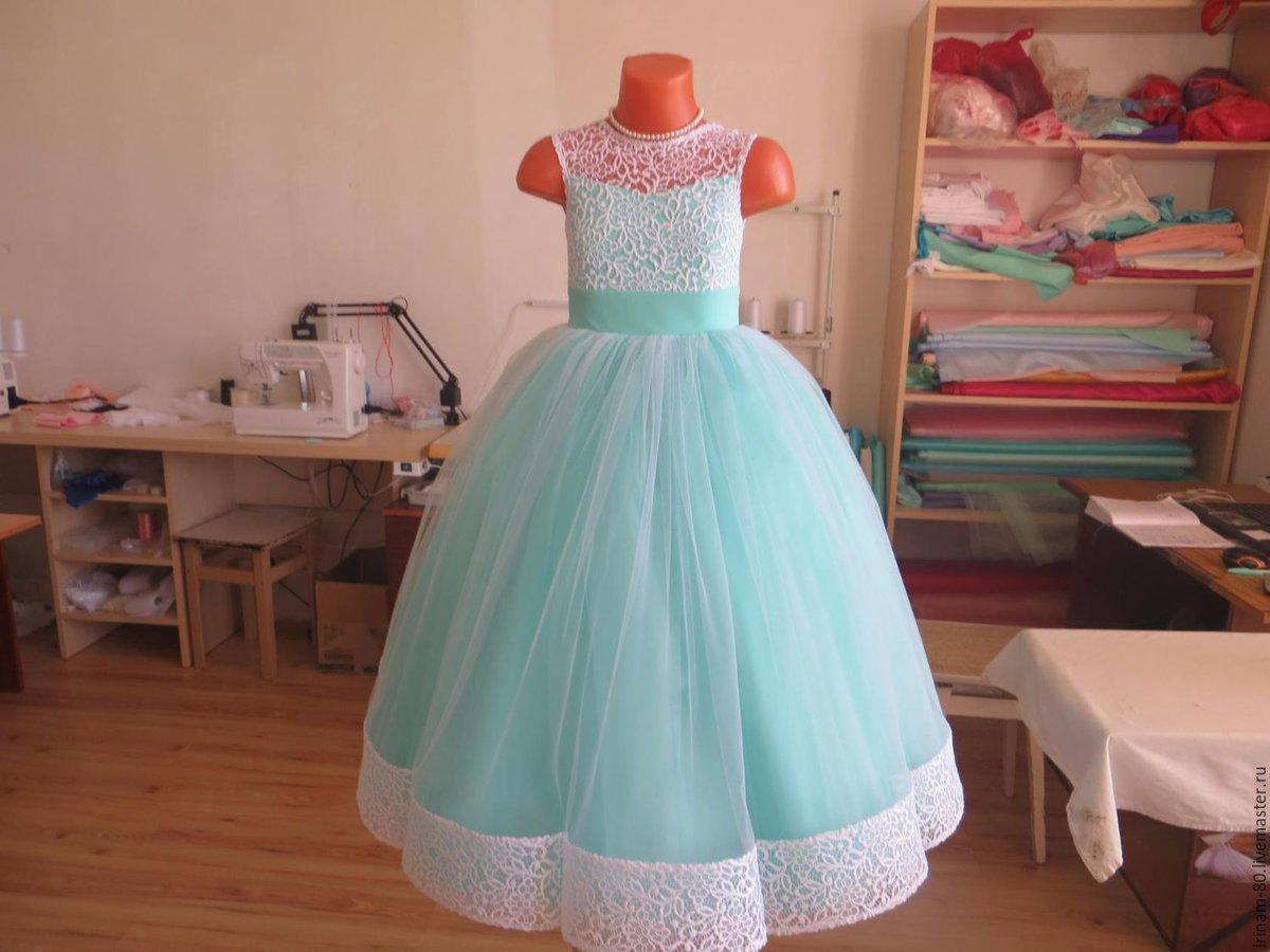 Детские красивые платья сшить 368
