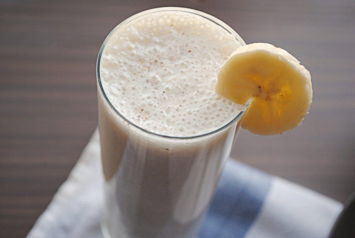 Как сделать смузи банан молоко 908