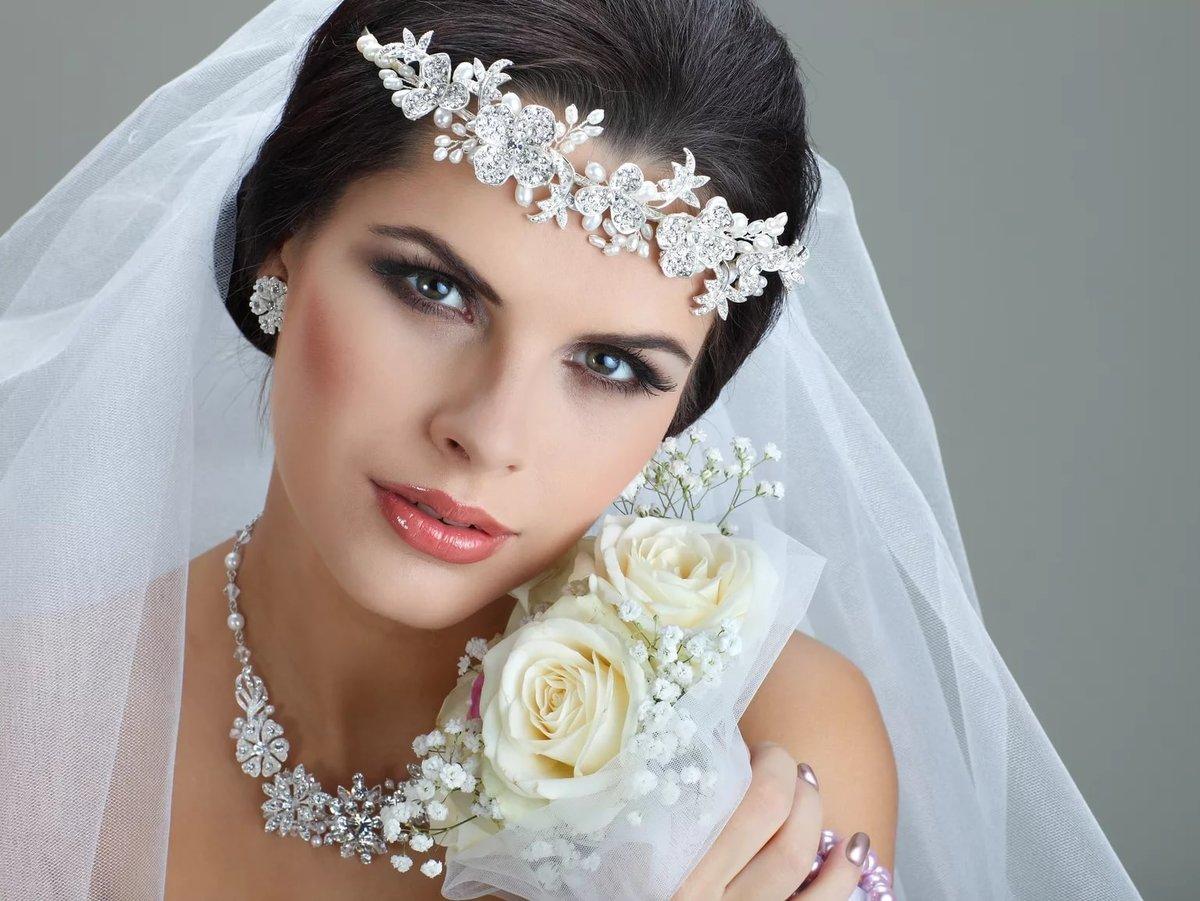 Красивый свадебный макияж невесты, фото, идеи 73