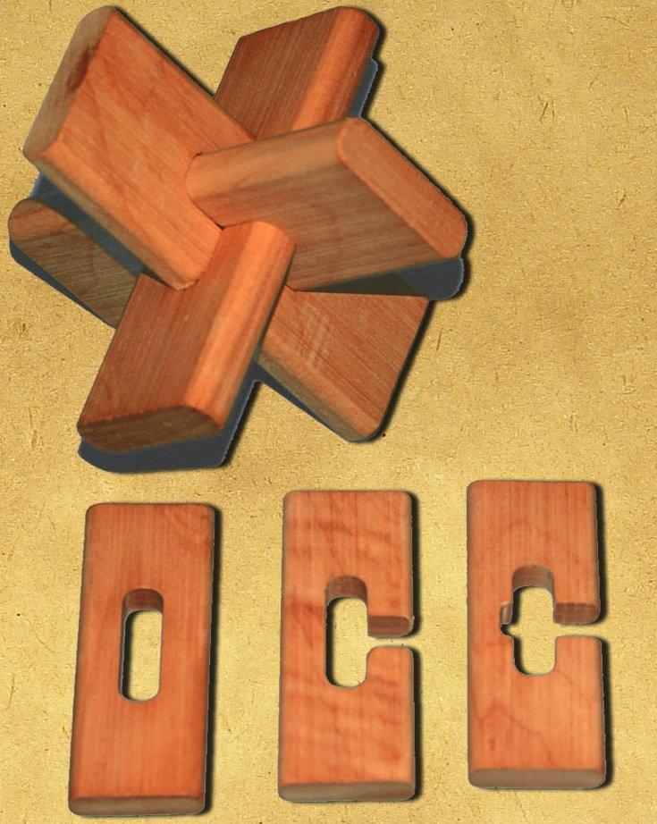 Как самому сделать деревянные головоломки