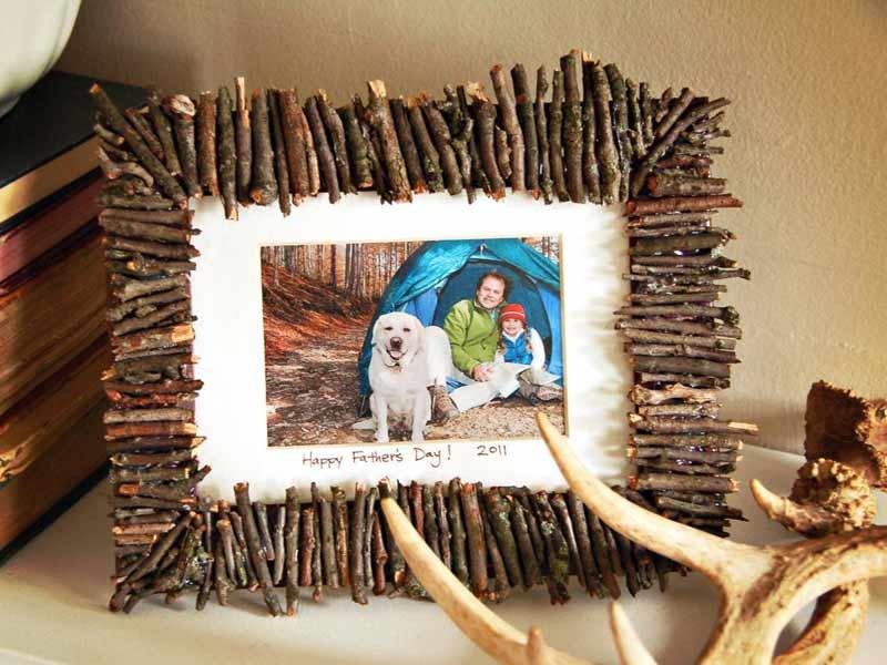 Рамки из веток дерева своими руками 98