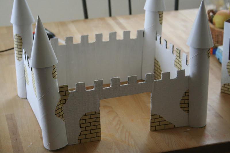 А как сделать замок из бумаги 107