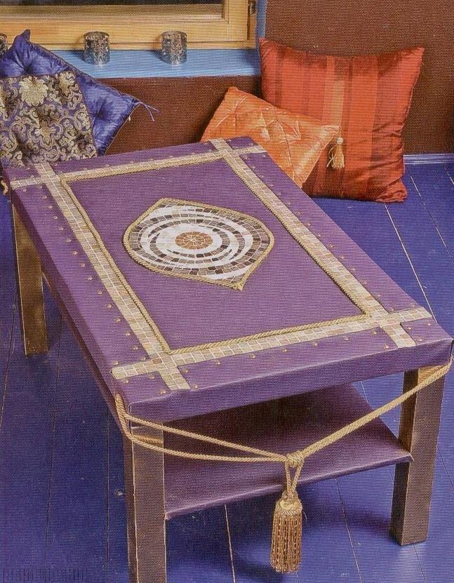 Декор старого стола своими руками фото