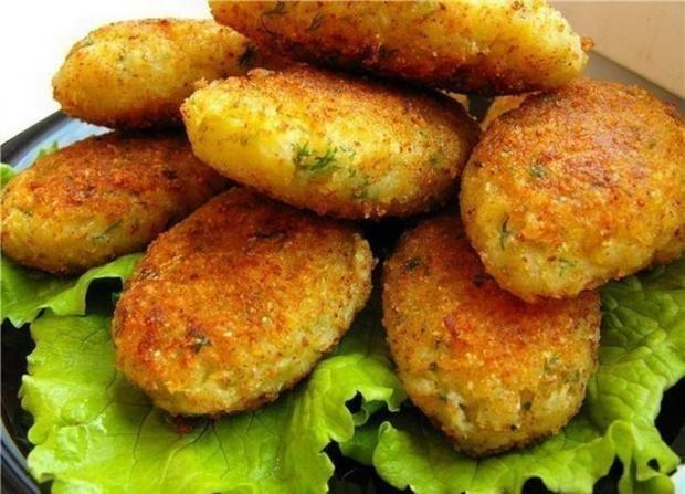 Котлеты из капусты самый вкусный рецепт с пошагово в