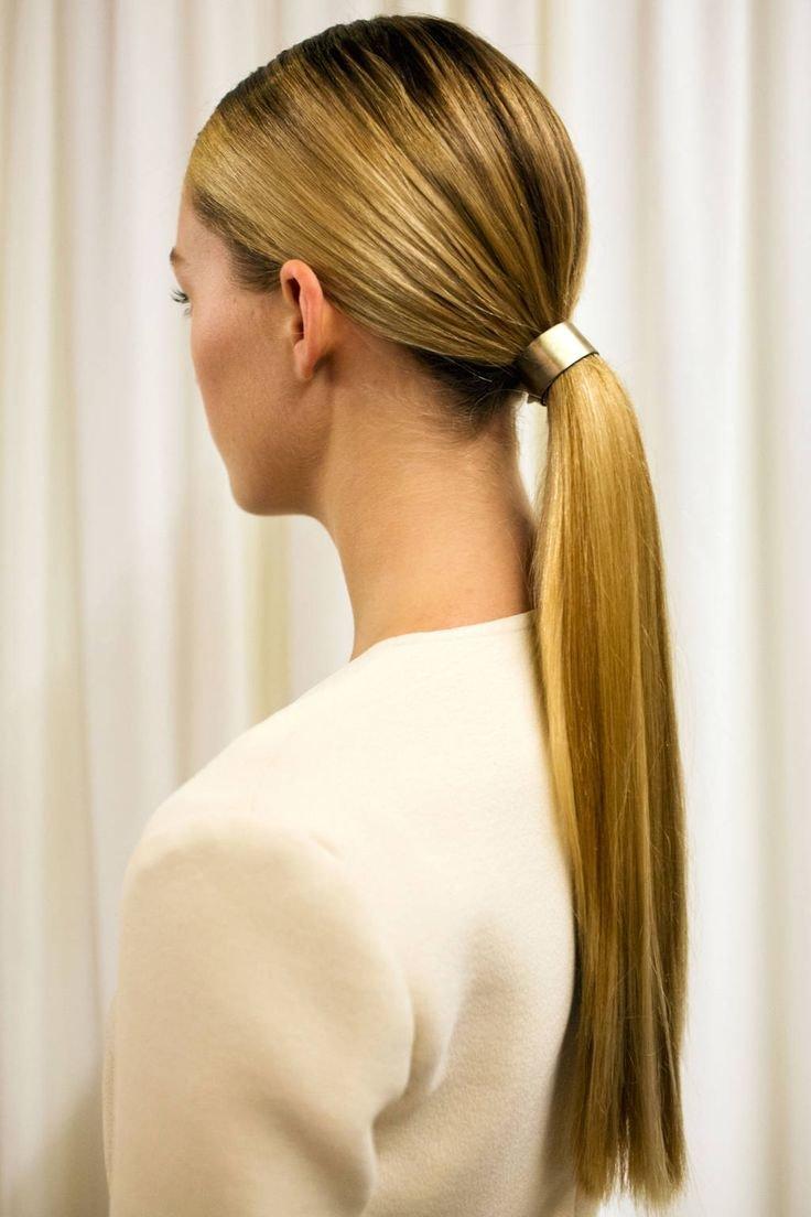 Как сделать пышный хвост на волосах