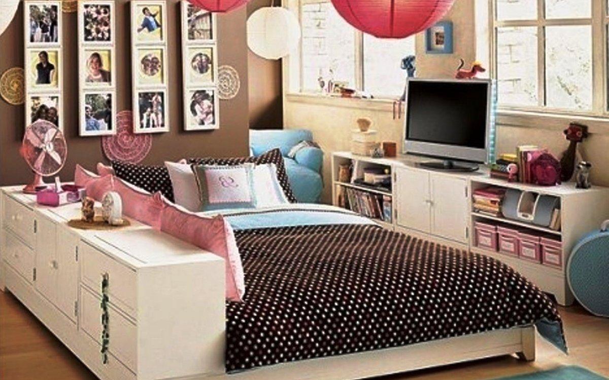 Красивая комната для девочки подростка своими руками 64
